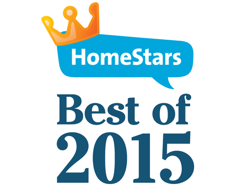 HomeStars Best of 2015 Award