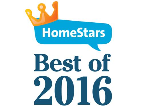 HomeStars Best of 2016 Award